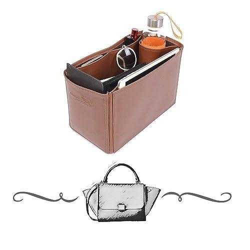 612e7b69b798 Amazon.com  Trapeze Large Deluxe Leather Handbag Organizer