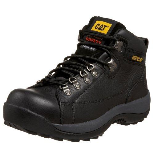 Caterpillar Men's Hydraulic Mid Cut Steel Toe Boot,Black,8.5 W