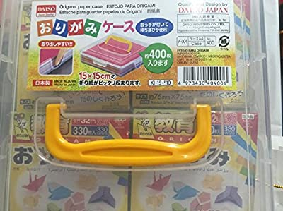 "Japanese Origami Folding Paper 3""×3"" 1320sheets with Case Box"