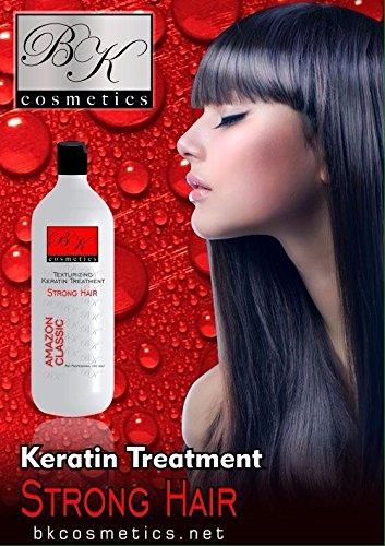 Keratin BK Cosmetics Amazon (Strong/Forte) Hair Treatment 33.8 Oz by BK Cosmetics