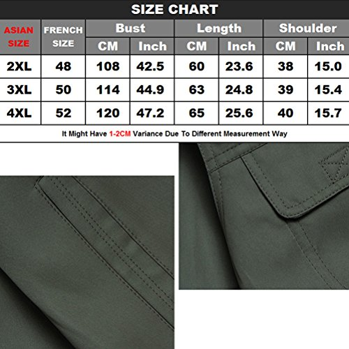 Gilet Vest Mens Multifunction Zhhlaixing Day Wear Thin tela Gift Fishing Both Sides Buena Father's Photography and Verde To Summer for OqOwRx6C