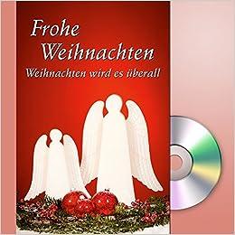 Frohe Weihnachten Cd.Weihnachten Wird Es überall Grußkarte Mit Mini Cd Im Umschlag