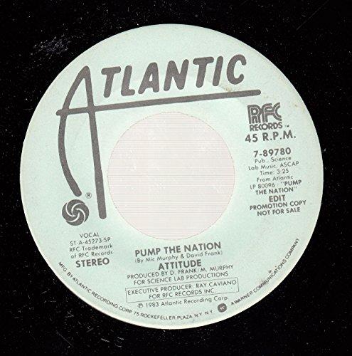 ATTITUDE 45 RPM Pump the Nation / ()