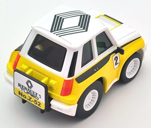 Amazon.com: Choro Q Z52b Renault 5 turbo rally 1983 Works color: Toys & Games