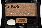 Maybelline New York Expert Wear Eyeshadow Singles, Modern Metallics 270s Golden Halo, 0.09 Ounce, Pack of 4 Review