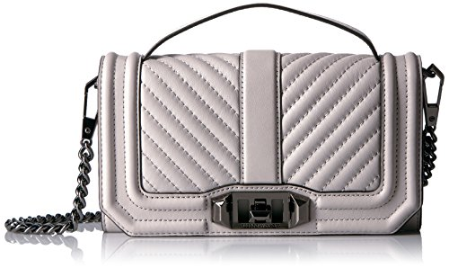 Rebecca Minkoff Love Phone Crossbody with Top Handle, Putty