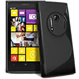 Mobile Bar S-Line Design Noir Coque de protection Silicone pour Nokia Lumia 1020
