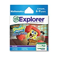 LeapFrog SpongeBob SquarePants Fists of Foam Learning Game (funciona con LeapPad Tablets & LeapsterGS)