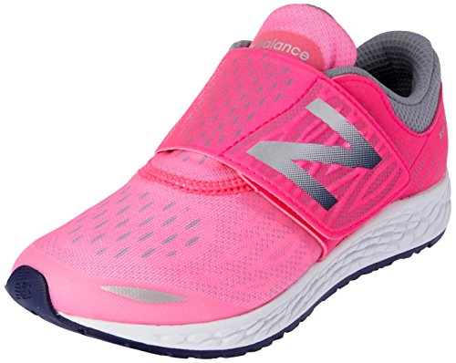 New Balance Unisex-Kinder Kjzntupg M Fresh Foam Zante V2 Sneakers Mehrfarbig (Pink/grey)