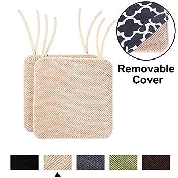 Amazon.com: Homing Memory Foam Chair Cushion - Honeycomb ...
