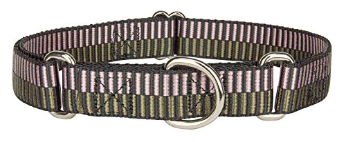 Country Brook Design Porcelain Earth Regency Stripes Martingale Dog - Medium