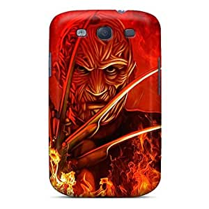 Case Cover Freddy Krueger/ Fashionable Case For Galaxy S3