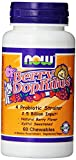 NOW Foods BerryDophilus 60 Chewables (Pack of 2)
