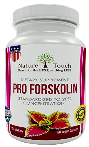 Pro Forskolin,Verified Extract-Best for Support Metabolism-Forskolin for Weight Loss-100% Pure Forskolin Highest Dosage-Belly Buster Burn Fat Quicker-Pure Coleus Forskohlii (Coleus Forskolin) 250 - Seen On Celebs As