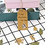 Kraft Paper Tags,Paper Gift Tags with Twine for