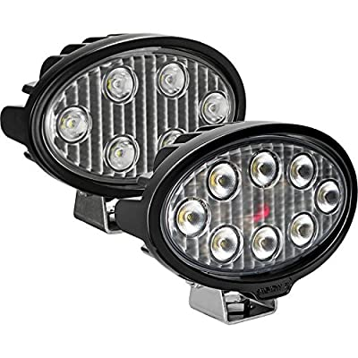 Vision X Lighting Vlo050840 One Size Work Light (Oval/Eight 5-Watt Leds/40 Degree Flood Pattern): Automotive