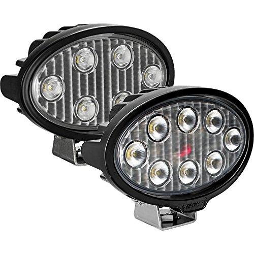 Oval//Eight 5-WATT LEDS//40 Degree Flood Pattern Vision X Lighting VLO050840 One Size Work Light