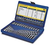 Irwin Tools 11135 35-Piece Screw Extractor and Drill Bit Set