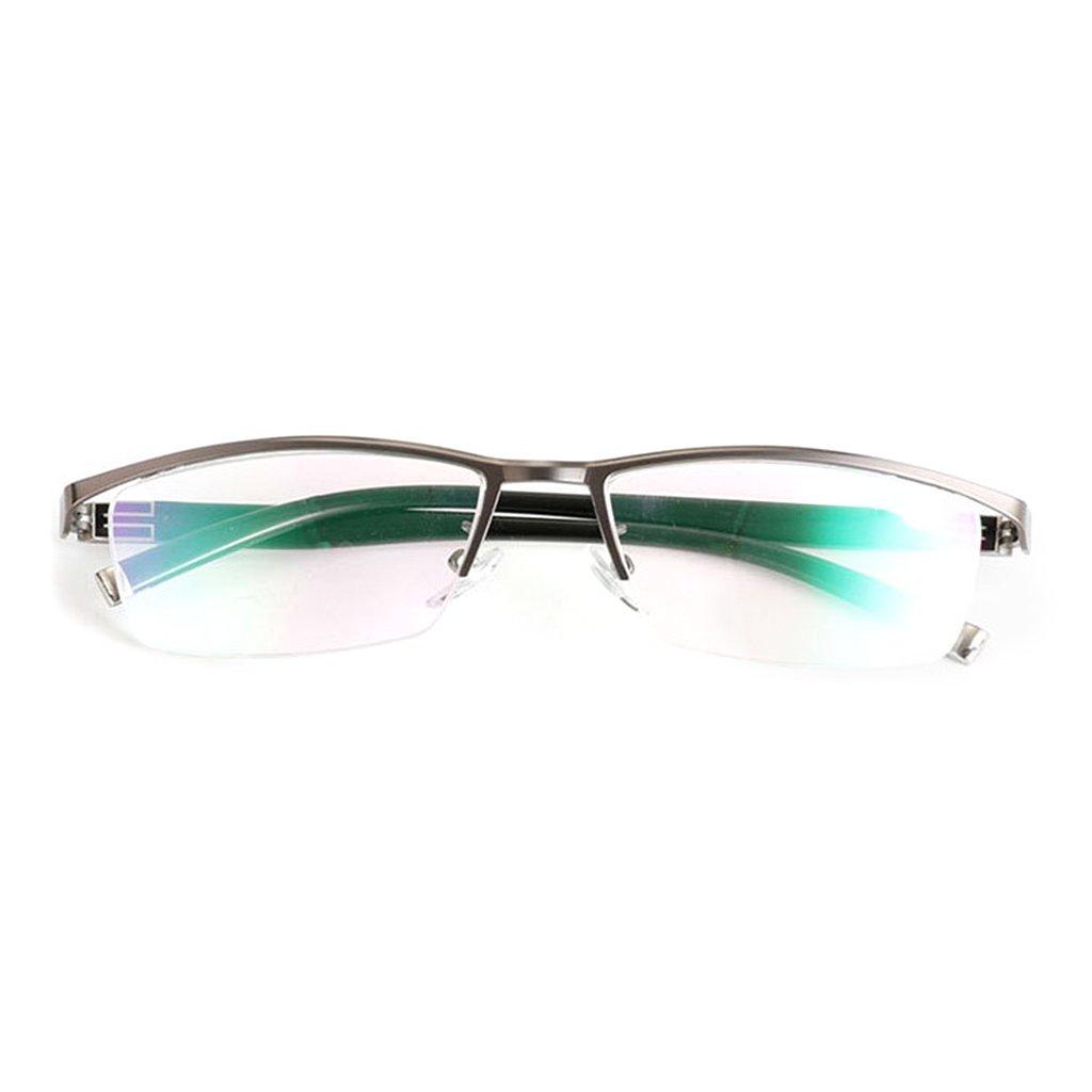 EA-STONE Plastic Reading Glasses,Woman Man Presbyopia Eyeglasses 1.0 1.5 2.0 2.5 3.0 3.5 Diopter (Brown, 1.5)