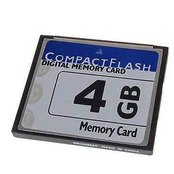 H HILABEE Tarjeta Compact Flash 4GB CF para Canon 400D 450D ...