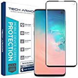 Tech Armor Dura Glass Screen Protector Designed for Samsung Galaxy S10 - Case-Friendly, Hybrid Glass, Ultra-Thin, Scratch and Impact Protection with Easy Installation Tool - [1-Pack]