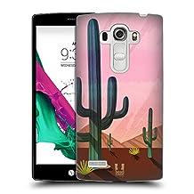 Head Case Designs Desert Cactus Prints Hard Back Case for LG G4 Beat / G4s / G4 s / H735