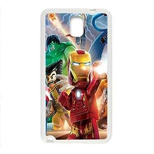 Papel de Parede LEGO Marvel Super Heroes Case Cover For samsung galaxy Note3 Case