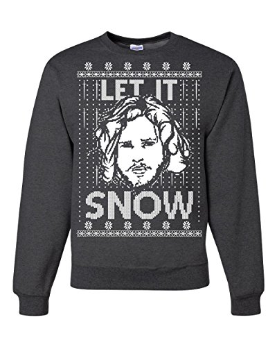 Let It Snow GoT Jon Snow Ugly Christmas Unisex Sweatshirt