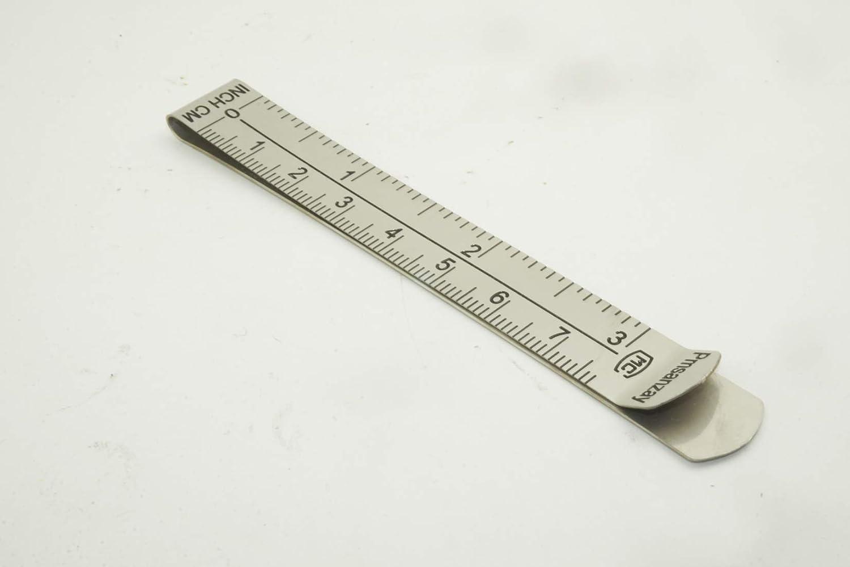 senza perno con guide per righello da 7,6 cm e 7,5 cm Confezione da 6 clip per orlo con clip da 7,6 cm per lavori di cucito