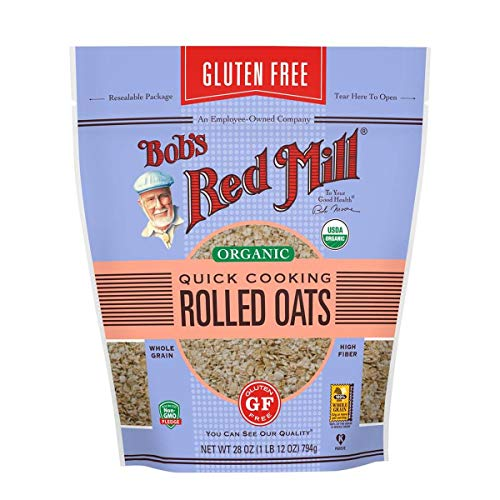 Bob's Red Mill (Resealable) Gluten Free Organic Quick Cooking Oats, 28-ounce (Pack of 4) by Bob's Red Mill (Image #4)