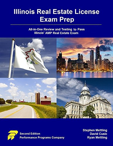 [B.e.s.t] Illinois Real Estate License Exam Prep: All-in-One Review and Testing To Pass Illinois' AMP Real Est<br />Z.I.P