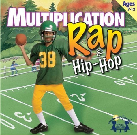 Math Series: Multiplication Rap & Hip-hop Music CD by Twin Sisters Productions (2007) Audio CD