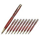 Legacy Woodturning, Fancy Pen Kit - Gold & Silver