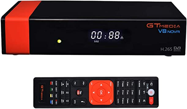 Tutmonda GTMEDIA V8 Nova DVB S2 Receptor de televisión satelital TV Digital Caja conversión Video HD 1080P Set Top Box Soporte WiFi Incorporado H.265: Amazon.es: Electrónica