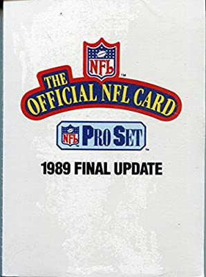 1989 Pro Set Final Update Factory Sealed Set #541-561 with Sterling Sharpe Rookie