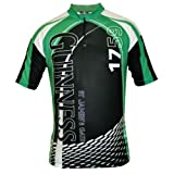 Guinness Cycling Jersey White,Green & Black--Medium