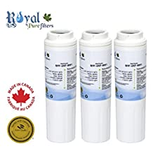 Kenmore 9005, Kenmore 8001, Whirlpool 4396395 and Kenmore 9006 Replacement Refrigerator Water Filter by Royal Pure Filters for Maytag UKF8001 (Pack of 3)