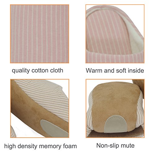 Yellow Sole Winter Non Slip Warm House Indoor Thick Soft Cotton Unisex Comfortable Slippers Memory Foam Shoes gqpp4R