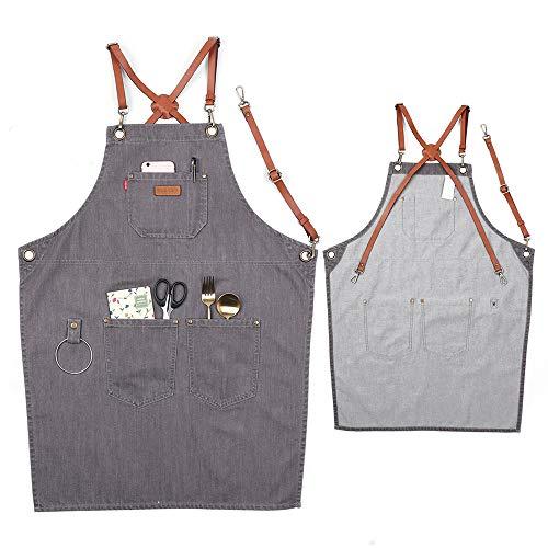 100 cotton butcher aprons - 3