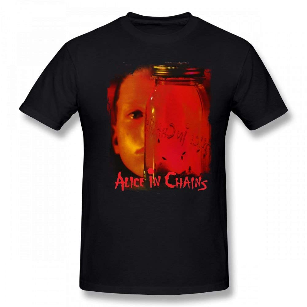 Short Sleeves Soft T Shirts Shirts Alice In Chains Jar Of Flies 6568