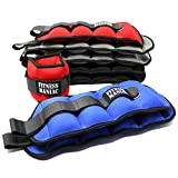 Adjustable Strap Wrist Ankle Weights 4lbs 6lbs 8lbs 10lbs Fitness Training Leg Exercise (4)