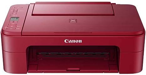 Impresora Multifuncional Canon PIXMA TS3352 Roja Wifi de inyección ...