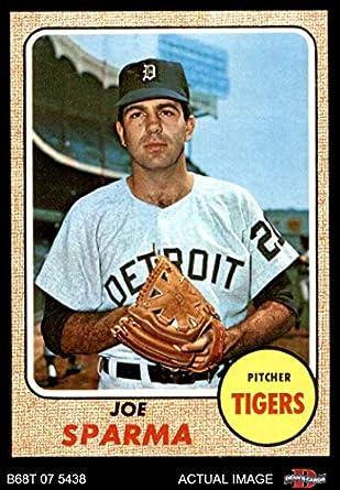 Amazoncom 1968 Topps 505 Joe Sparma Detroit Tigers Baseball