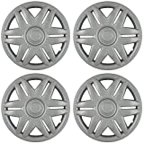1987 chevy caprice hub caps - OxGord Hubcaps for 15 inch Standard Steel Wheels (Pack of 4) Wheel Covers - Snap On, Silver …