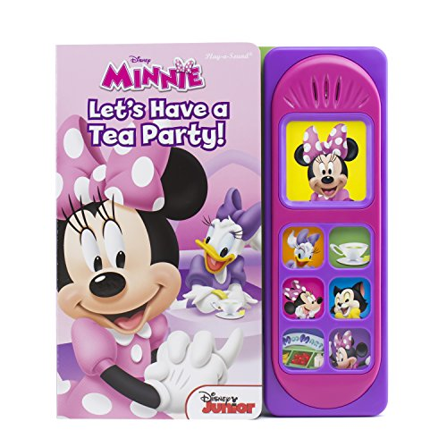 Minnie Mouse: Let's Have a Tea Party! Little Sound Book - PI Kids (Play-a-sound: Disney Minnie)