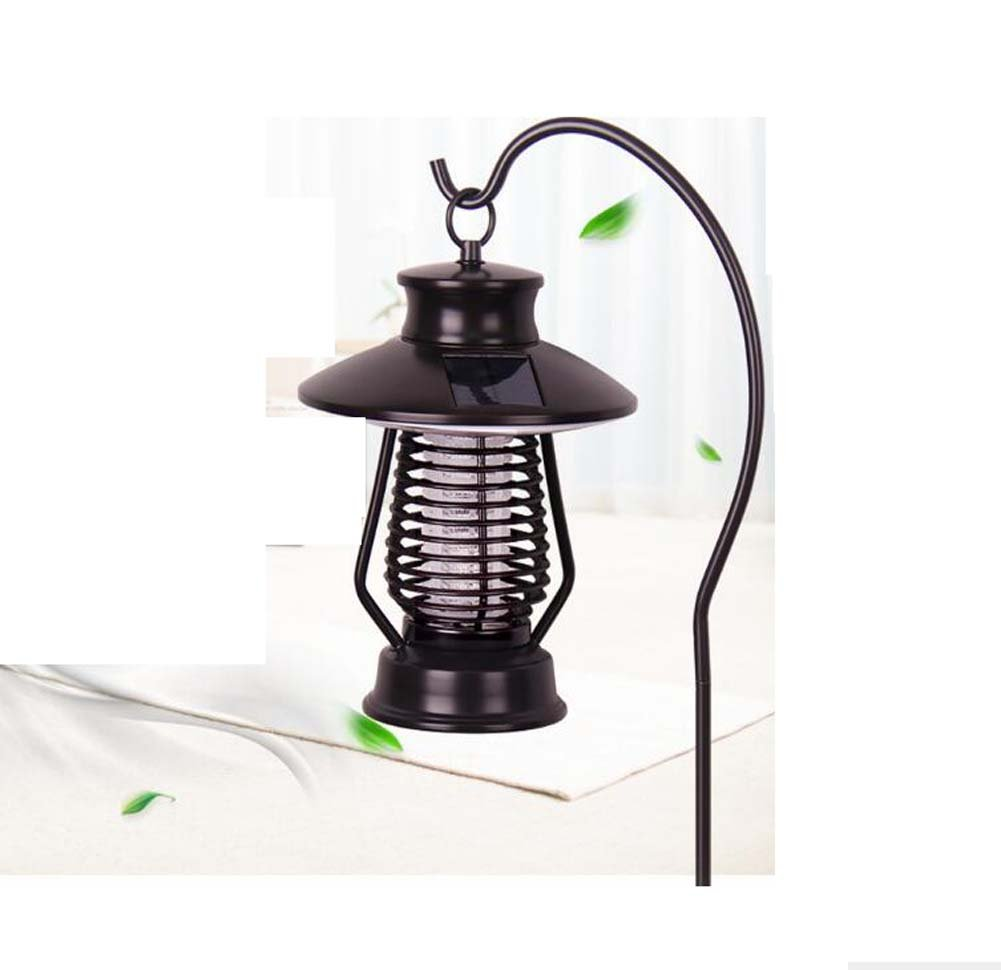 ソーラー屋内と屋外の昆虫キラー新しい屋内電灯の電気ショック蚊ランプ防水家庭蚊キラー B07BW9Q36Z 10893