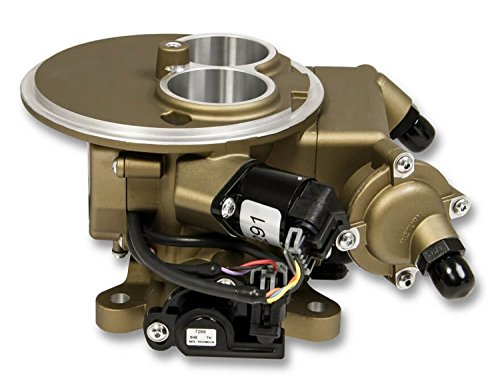 (Holley 550-851K Self-Tuning Master Kit 2300 Flange Carb Replacement w/Hardware Classic Gold Finish)