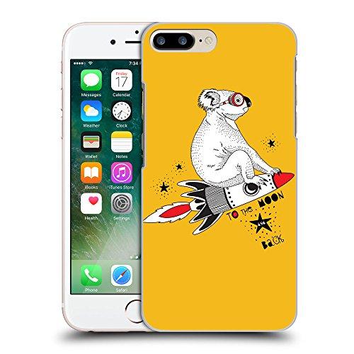 GoGoMobile Coque de Protection TPU Silicone Case pour // Q05240602 Koala volant ambre // Apple iPhone 7 PLUS