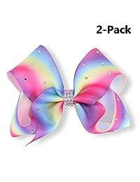 Wazonton JoJo Siwa Large Cheer Hair Bow, Hair Clip Accessories for Girls