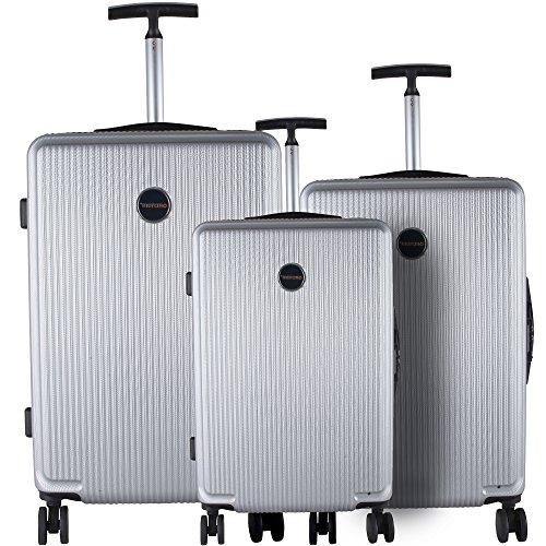 Murano. 3-piece Hardside Lightweigrh spinner Lugguage set included 3 digit code lock (Murano Suitcase)